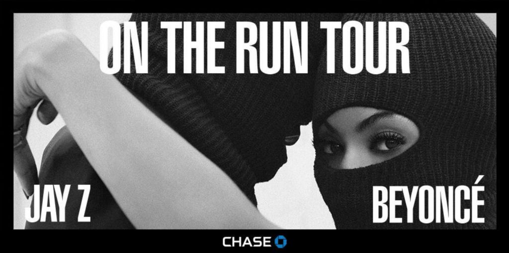 On the Run Tour Chase